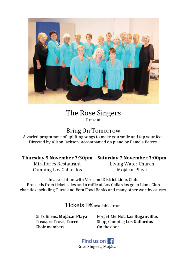 Nov 5 Rose Singers Choir