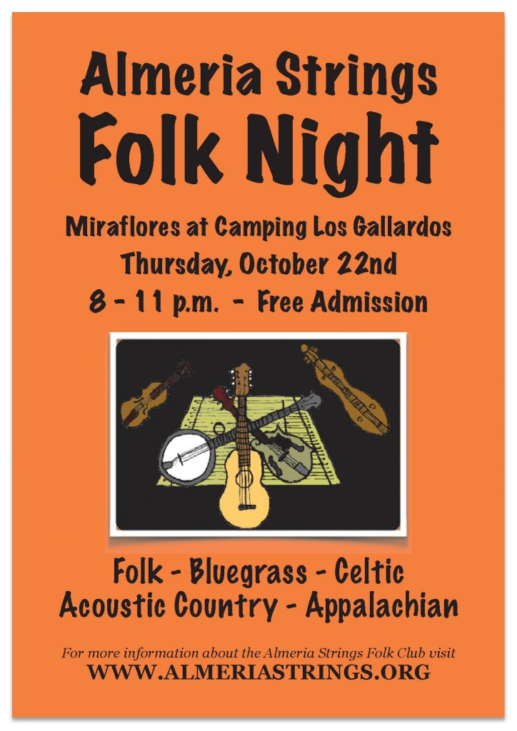 Oct 22 Folk Night