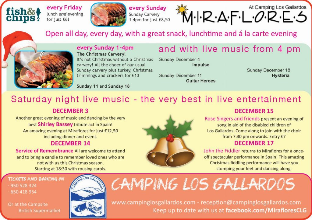 What's on this December at Miraflores