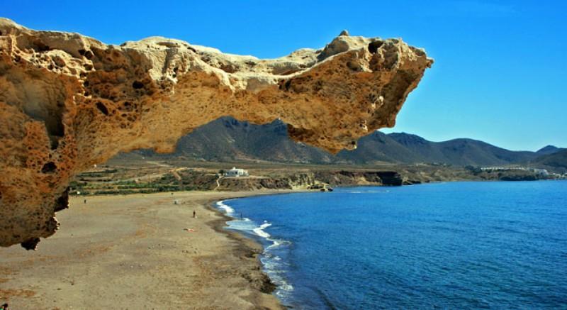 beach at Cabo de Gata nature park