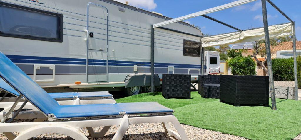 Luxus-Glamping-Wohnwagen in Los Gallardos bei Mojacar